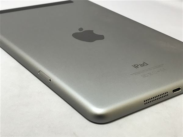 【中古】【安心保証】 SoftBank iPadmini3[WiFi+4G 128] グレイ