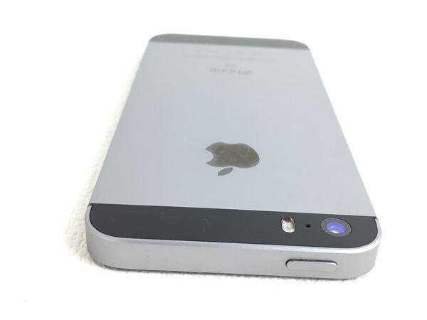 【中古】【安心保証】 SoftBank iPhoneSE[32G] スペースグレイ