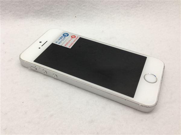 【中古】 シルバー au iPhoneSE 【安心保証】 [16GB]