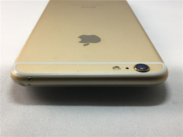 【中古】【安心保証】 au iPhone6Plus[128G] ゴールド