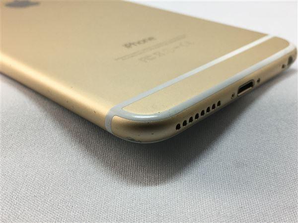 【中古】【安心保証】 au iPhone6Plus[128G] ゴールド