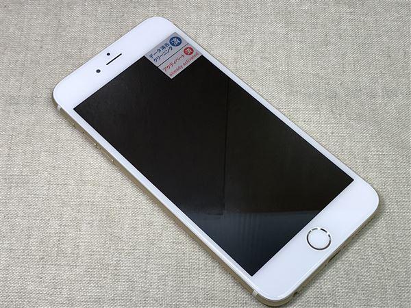 【中古】【安心保証】 SoftBank iPhone6Plus[128G] ゴールド