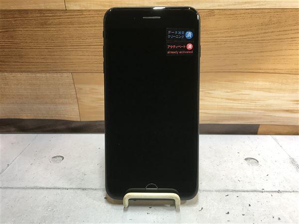 【中古】【安心保証】 SoftBank iPhone7Plus[256G] ブラック SIMロック解除済