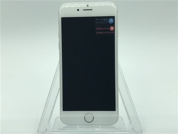 【中古】【安心保証】 SoftBank iPhone6[64G] シルバー
