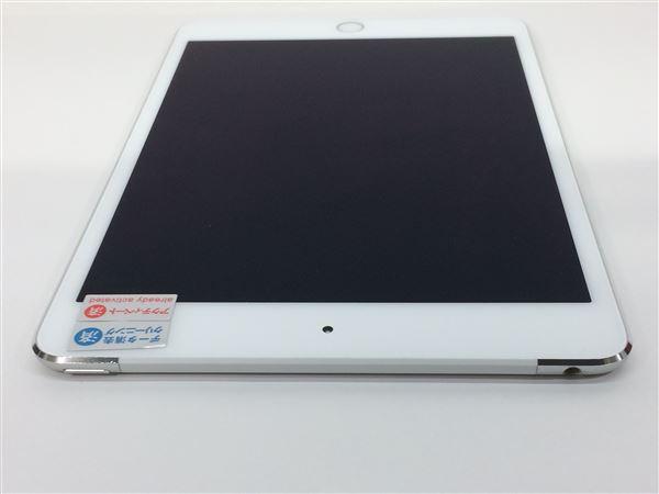【中古】【安心保証】 au iPadmini4[セルラー64G] シルバー