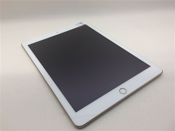 【中古】【安心保証】 SoftBank 9.7iPad 5[セルラー128G] ゴールド