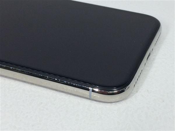 【中古】【安心保証】 SoftBank iPhoneX[256G] シルバー