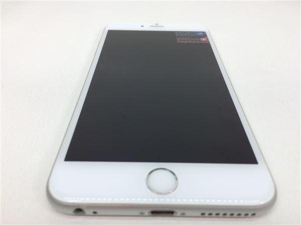 【中古】【安心保証】 au iPhone6sPlus[64G] シルバー SIMロック解除済