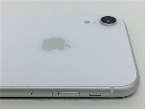 【中古】【安心保証】 au iPhoneXR[64G] ホワイト SIMロック解除済