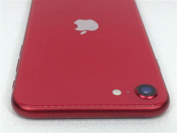 【中古】【安心保証】 SIMフリー iPhoneSE 第2世代[256G] レッド