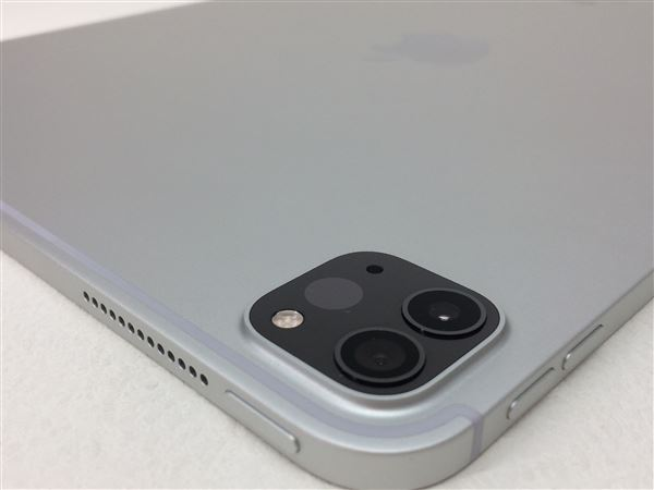 【中古】【安心保証】 au iPadPro-11_2[セルラー128G] シルバー