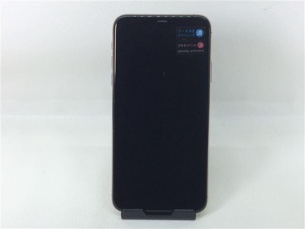 【中古】【安心保証】 SoftBank iPhone11 Pro Max[64G] ゴールド SIMロック解除済
