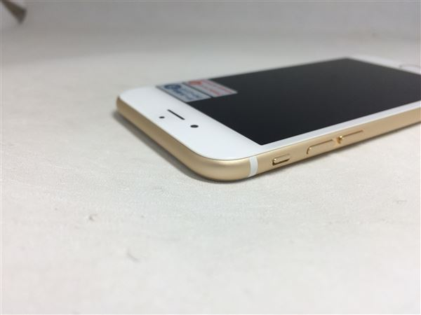 【中古】【安心保証】 au iPhone6s[16G] ゴールド SIMロック解除済