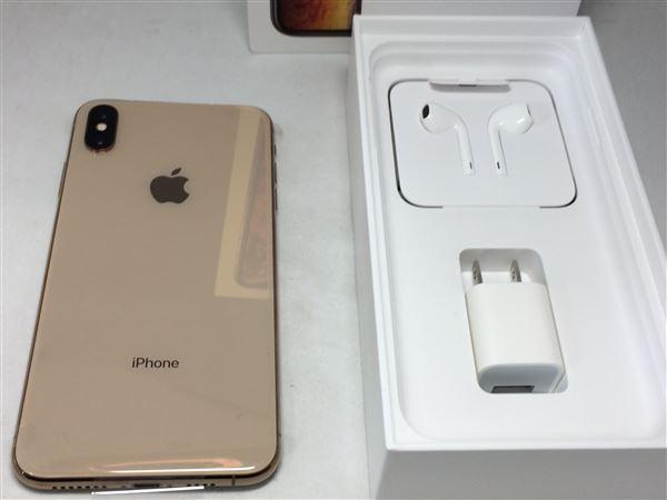 【中古】【安心保証】 docomo iPhoneXSMax[512G] ゴールド