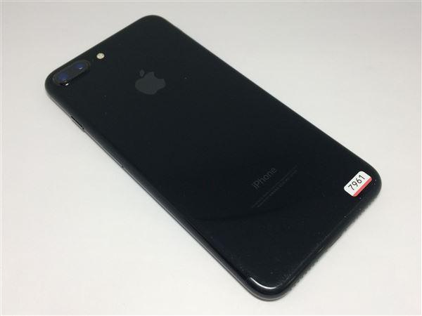 【中古】【安心保証】 SoftBank iPhone7Plus[128G] ジェットブラック