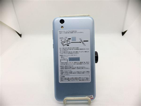 【中古】【安心保証】 UQモバイル SHV40 エアリーブルー