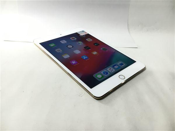 【中古】【安心保証】 docomo iPadmini4[セルラー64G] ゴールド