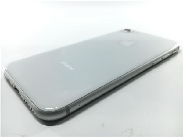 【中古】【安心保証】 au iPhone8[64G] シルバー SIMロック解除済