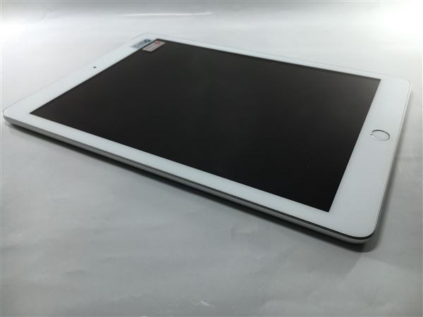 【中古】【安心保証】 SoftBank 9.7iPad 6[セルラー32G] シルバー
