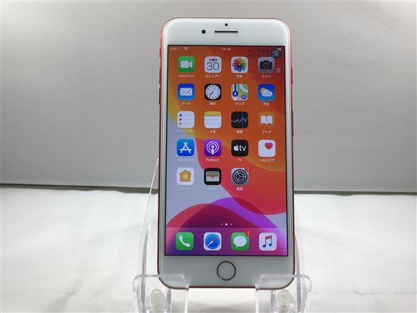 【中古】【安心保証】 SoftBank iPhone7Plus[256G] レッド