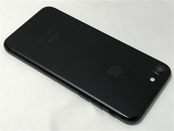 【中古】【安心保証】 SoftBank iPhone7[32G] ブラック SIMロック解除済