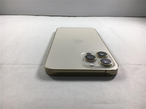 【中古】【安心保証】 au iPhone12ProMax[256G] ゴールド