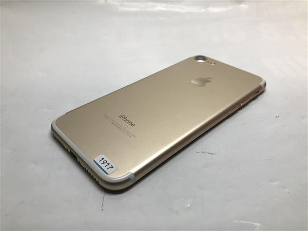 【中古】【安心保証】 SoftBank iPhone7[256G] ゴールド SIMロック解除済