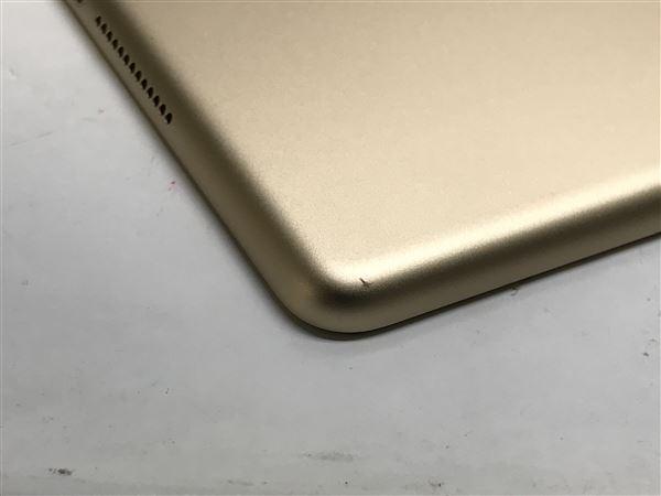 【中古】【安心保証】 docomo 9.7iPad 5[セルラー32G] ゴールド