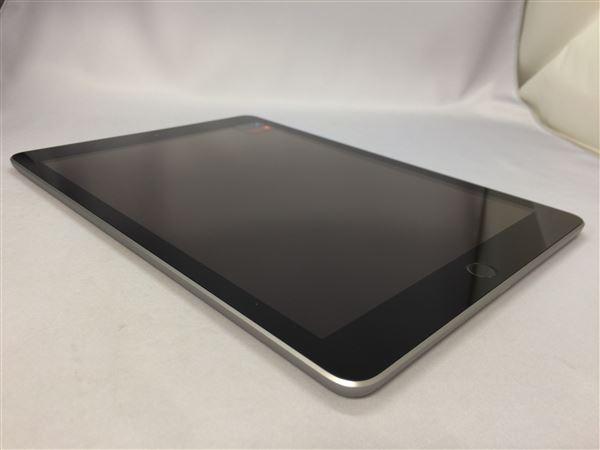 【中古】【安心保証】 docomo 9.7iPad 6[セルラー32G] グレイ