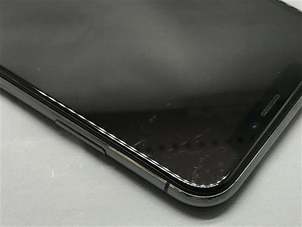 【中古】【安心保証】 docomo iPhoneX[256G] スペースグレイ SIMロック解除済