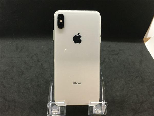 【中古】【安心保証】 SoftBank iPhoneXSMax[64G] シルバー