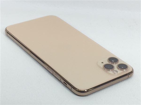 【中古】【安心保証】 SoftBank iPhone11 Pro Max[256G] ゴールド