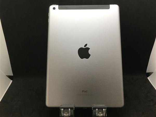 【中古】【安心保証】 SoftBank 9.7iPad 5[セルラー128G] スペースグレイ
