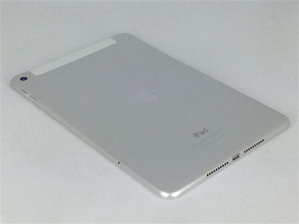 【中古】【安心保証】 au iPadmini4 Wi-Fi+Cellular 32GB シルバー