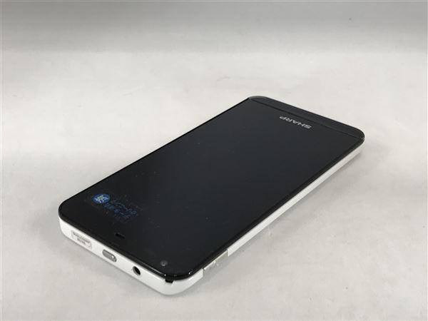 【中古】【安心保証】 SIMフリー SHーM01 ホワイト