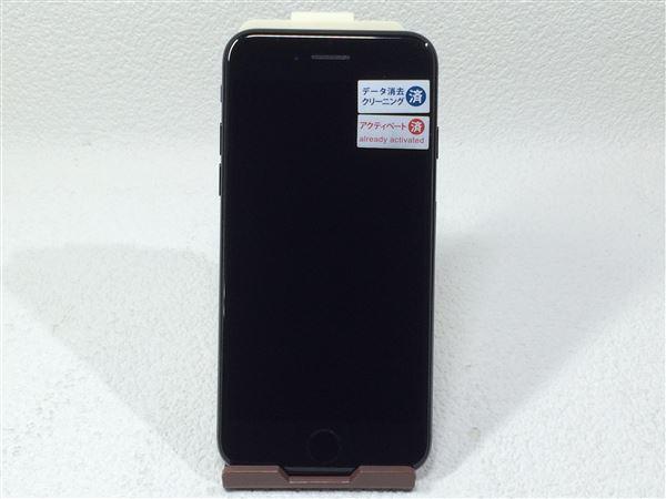 【中古】【安心保証】 SoftBank iPhone7 128GB ジェットブラック