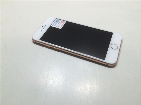 【中古】【安心保証】 docomo iPhone8[64G] ゴールド SIMロック解除済
