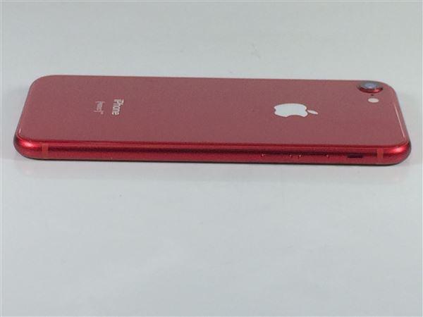 【中古】【安心保証】 au iPhone8[64G] レッド SIMロック解除済