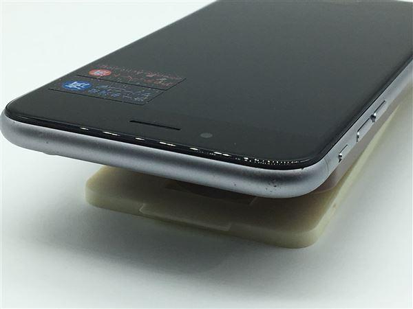 【中古】【安心保証】 SoftBank iPhone6[64G] スペースグレイ