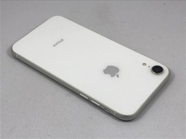 【中古】【安心保証】 au iPhoneXR[64G] ホワイト