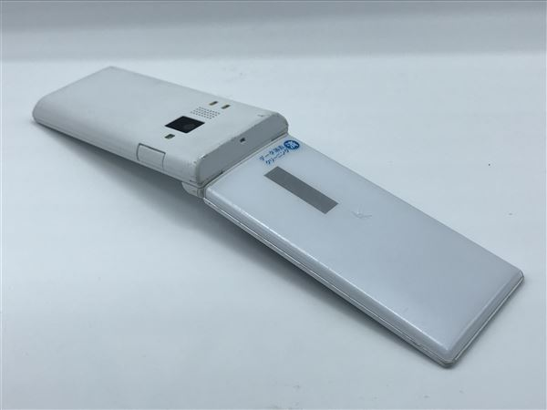 【中古】【安心保証】 SoftBank 501KC ホワイト