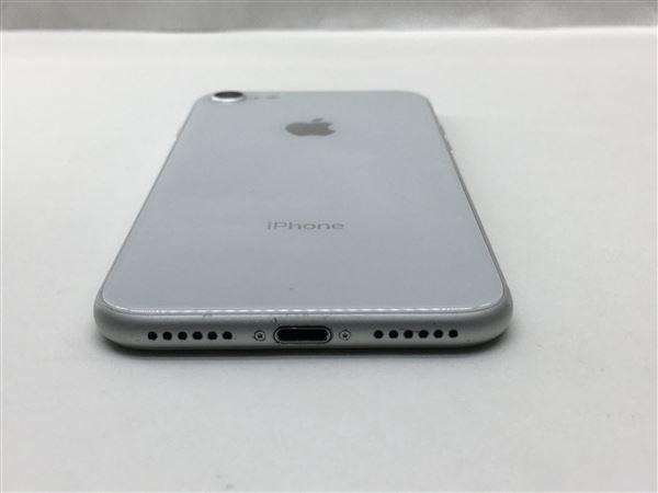 【中古】【安心保証】 docomo iPhone8[256G] シルバー SIMロック解除済