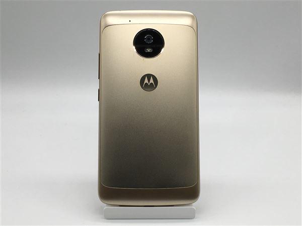 【中古】【安心保証】 SIMフリー MotoG5[16G] ファインゴールド