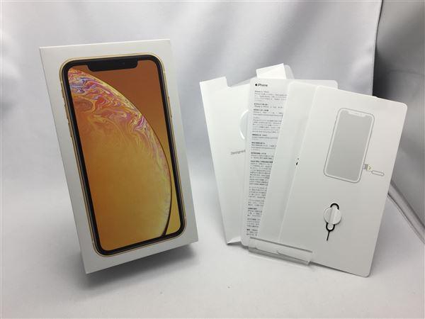 【中古】【安心保証】 SoftBank iPhoneXR[128GB] イエロー
