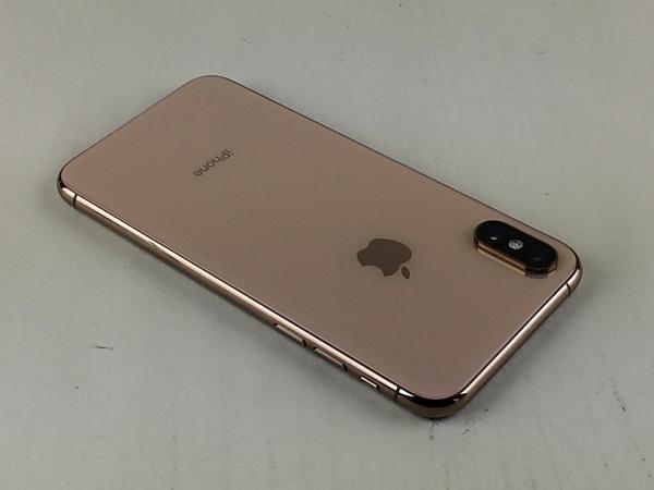 【中古】【安心保証】 docomo iPhoneXS[64G] ゴールド