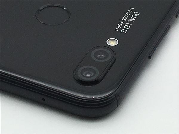 【中古】【安心保証】 Y!mobile P20lite ミッドナイトブラック