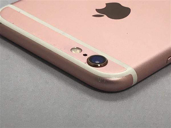 【中古】【安心保証】 au iPhone6s[128G] ローズゴールド