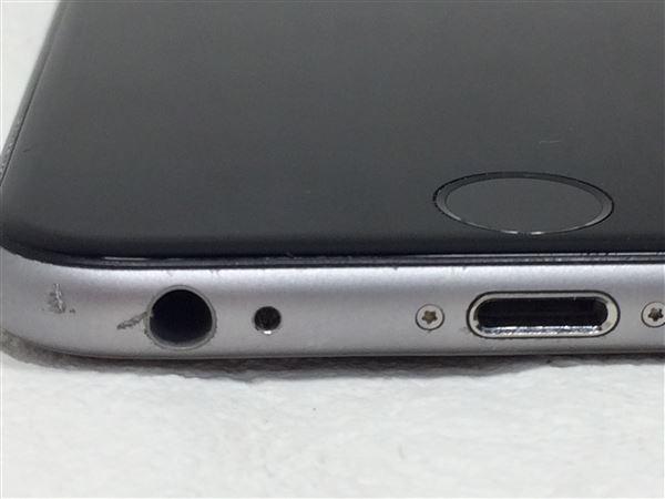 【中古】【安心保証】 SoftBank iPhone6s[16G] スペースグレイ SIMロック解除済