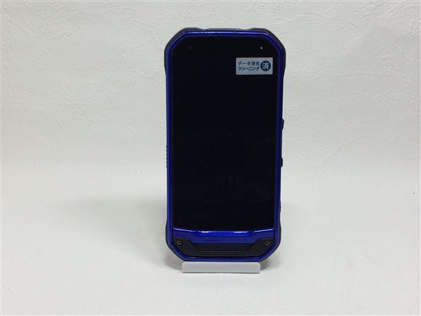 【中古】【安心保証】 au KYV41 ブルー