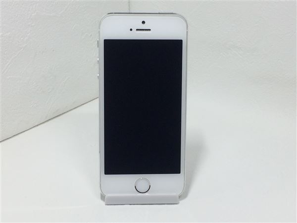 【中古】【安心保証】 SoftBank iPhone5s[32G] シルバー